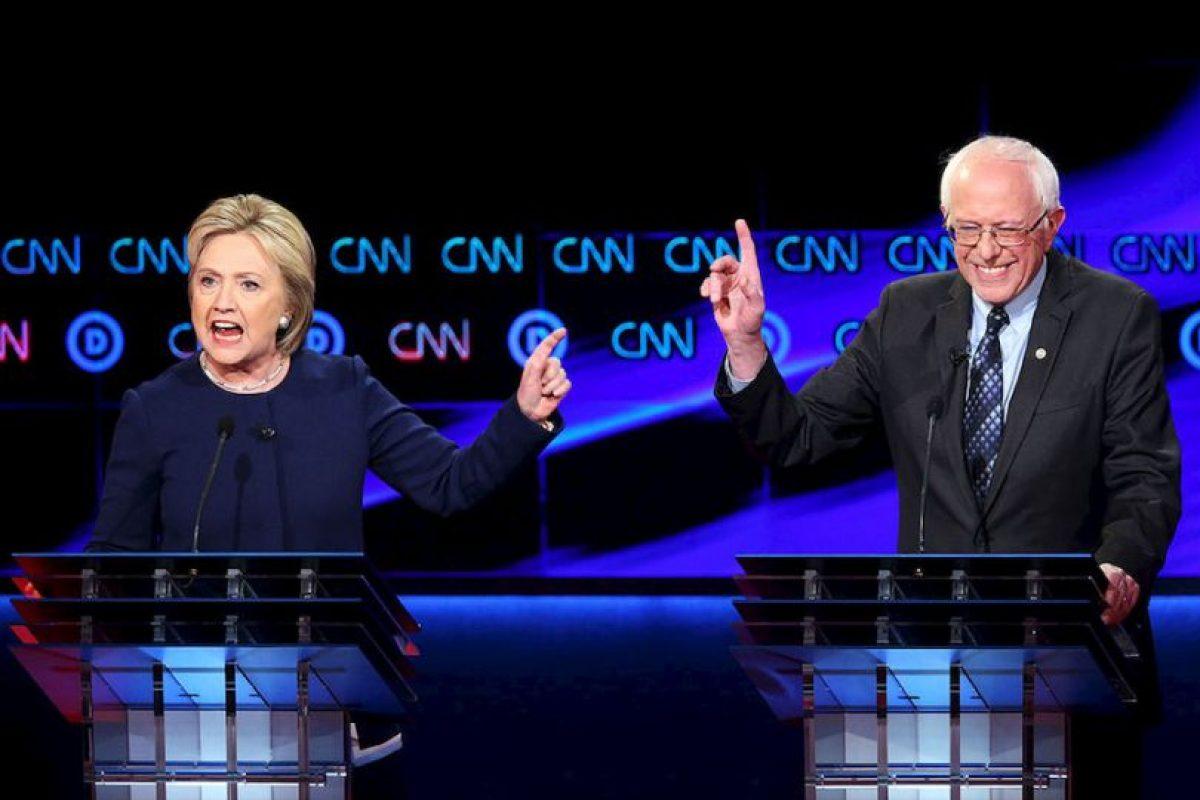 Durante la Convención Nacional Demócrata, Hillary Clinton tratará de obtener los votos que su principal contrincante, el senador Bernie Sanders había logrado durante su campaña. Foto:Getty Images. Imagen Por: