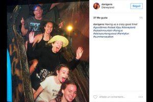 """Una de sus principal atracción es el juego """"Splash Mountain"""". Foto:Instagram/danigena. Imagen Por:"""