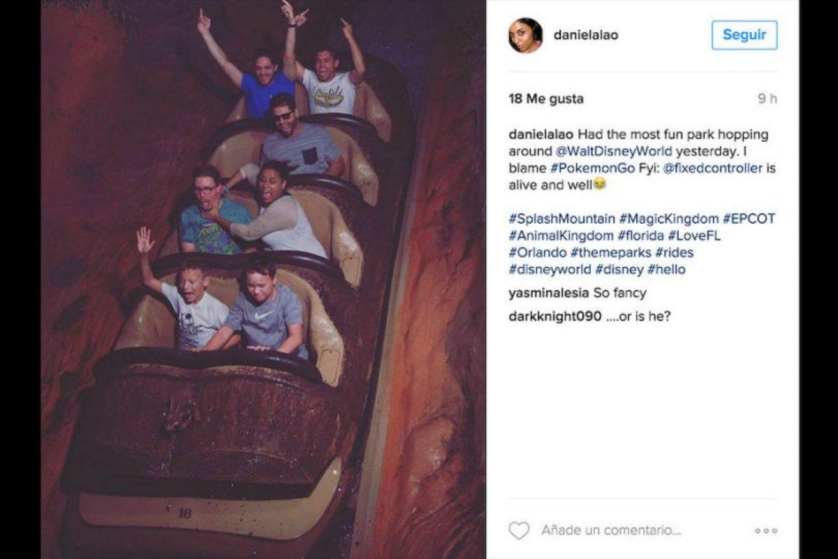 Disney World es uno de los parques temáticos más grandes y populares del mundo. Foto:Instagram/danielalao. Imagen Por: