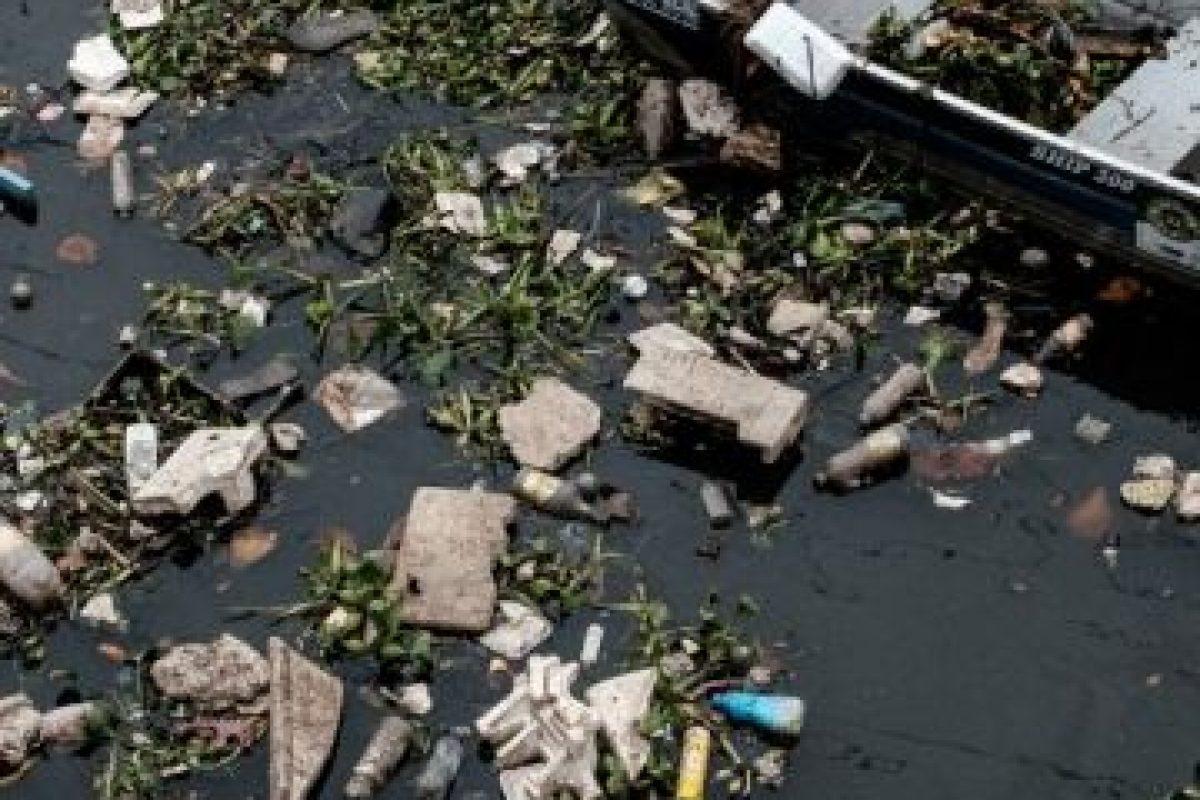 Hace unos días se publicaron estas imágenes de la Bahía Guanabara Foto:AFP. Imagen Por:
