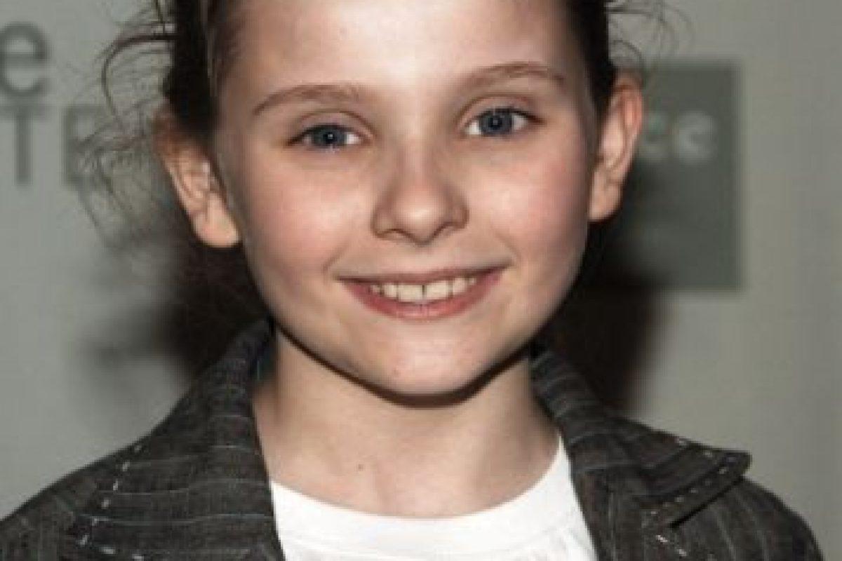 """Abigail interpretó a """"Olive"""" a sus seis años. Foto:vía Getty Images. Imagen Por:"""