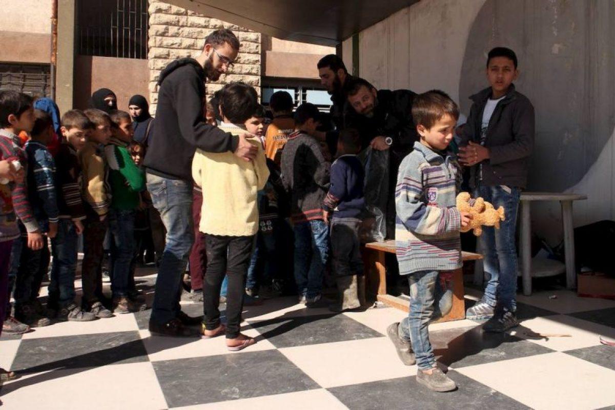 Y en campos de refugiados Foto:Facebook.com/ssyrelief. Imagen Por: