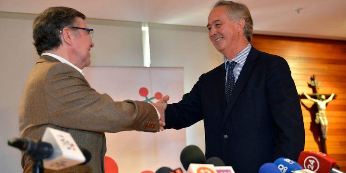 Larraín ante críticas por candidatura de Lavín: