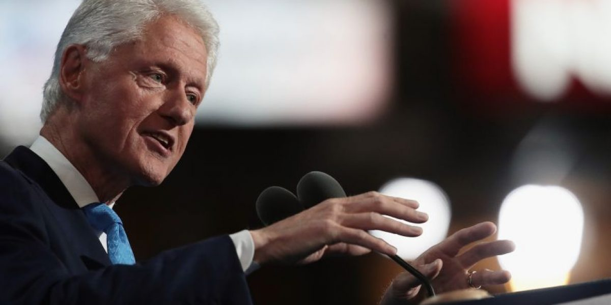 Bill Clinton calificó a Donald Trump como una