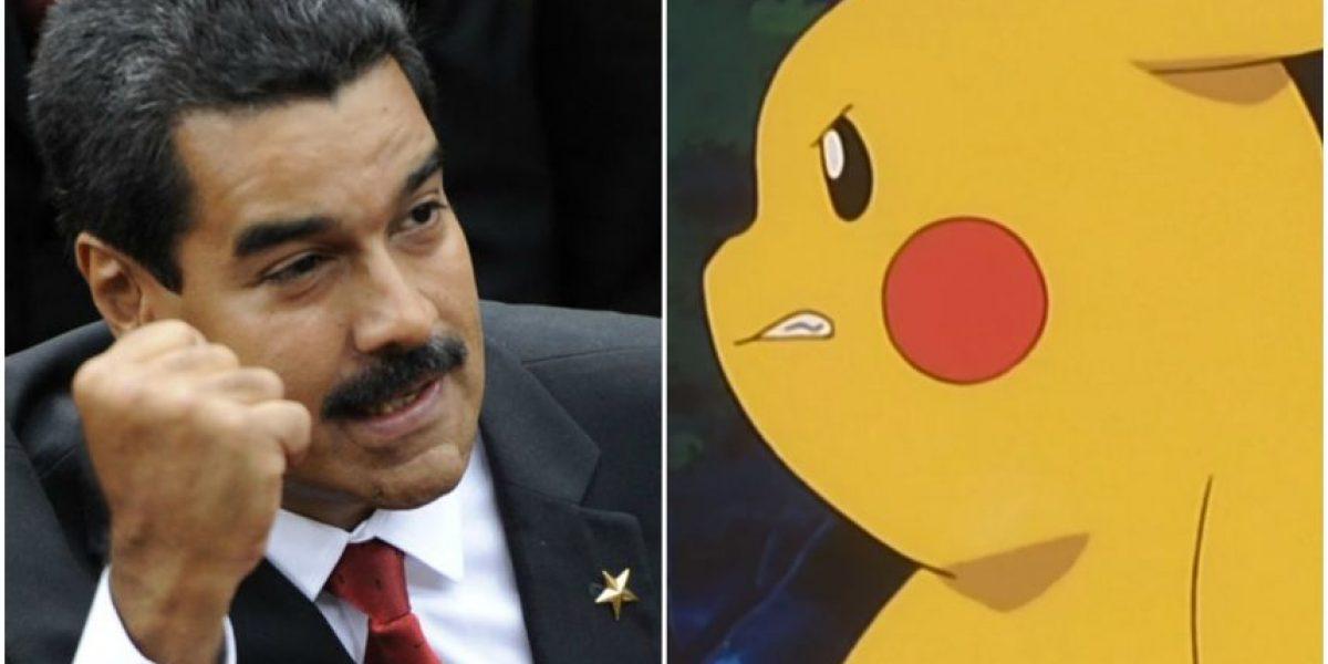 Maduro le declara la guerra a Pokémon Go: