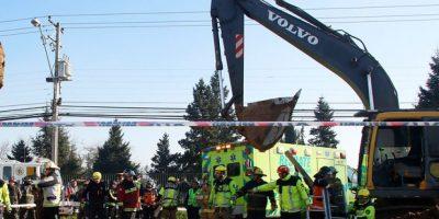 Trabajador muere tras ser sepultado por deslizamiento de tierra en una obra en Talca