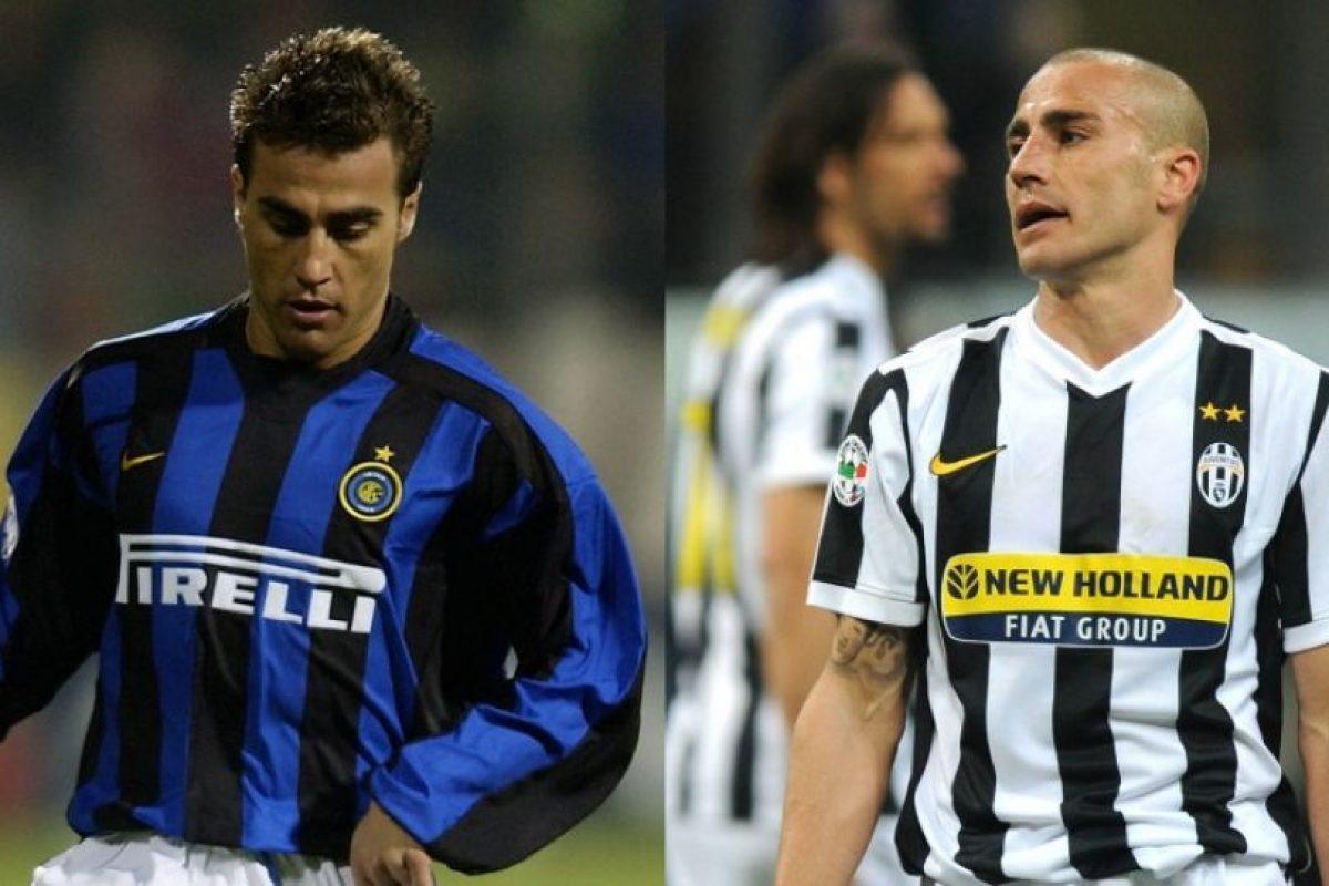 Fabio Cannavaro es recordado en Italia como un fiero defensor e integrante de aquel plantel de Parma que brilló en Italia. Sin embargo, para los hinchas de Inter de Milán, club donde jugó desde 2002 hasta 2004, es recordado por fichar en Juventus, donde estuvo de 2004 a 2006 y 2009/10 Foto:Getty Images. Imagen Por: