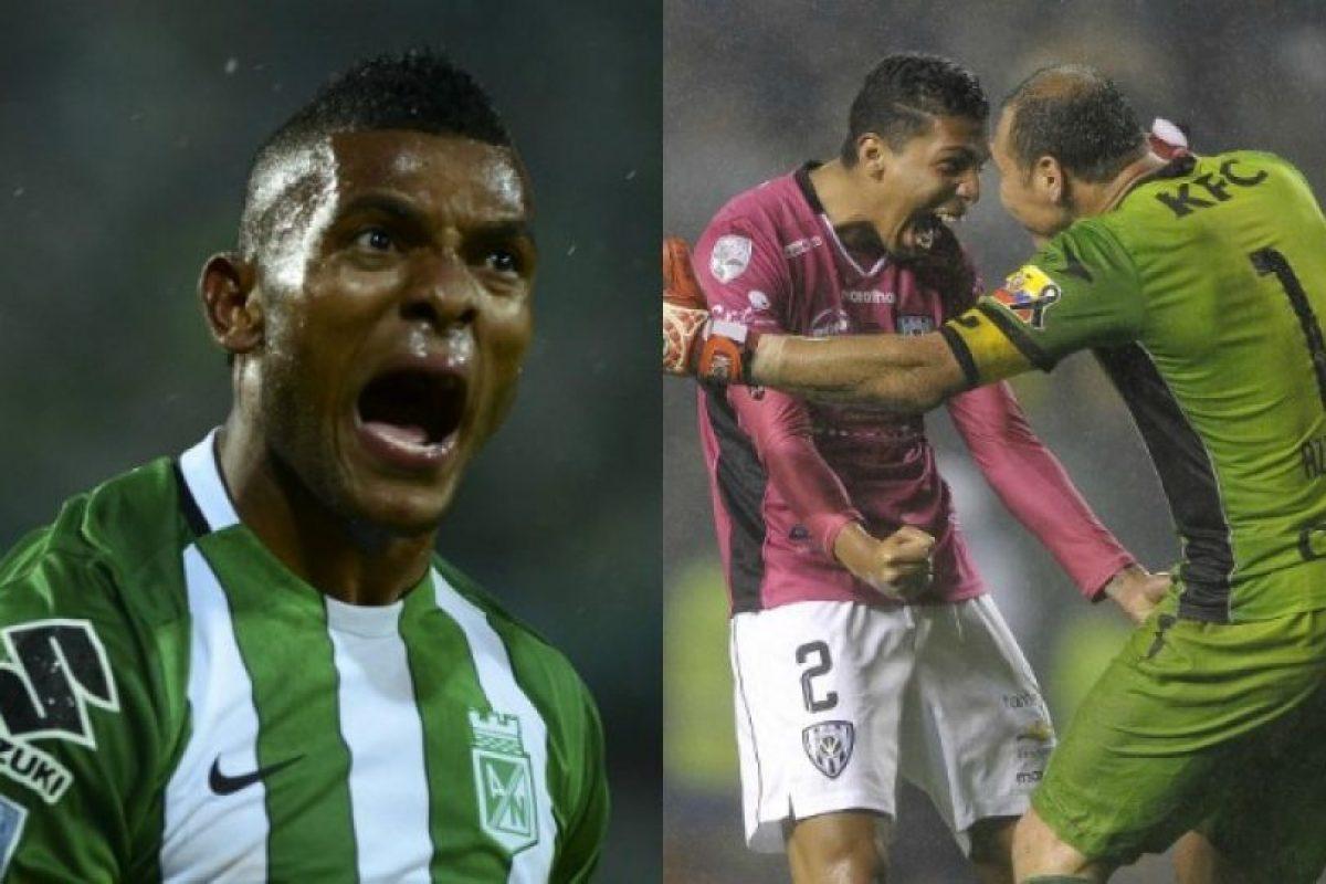 Atlético Nacional e Independiente del Valle buscan el primer paso a la gloria de la Copa Libertadores Foto:AFP. Imagen Por:
