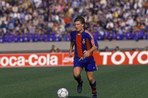 Michael Laudrup fue otro de los jugadores que cambió Barcelona por Real Madrid Foto:Getty Images. Imagen Por: