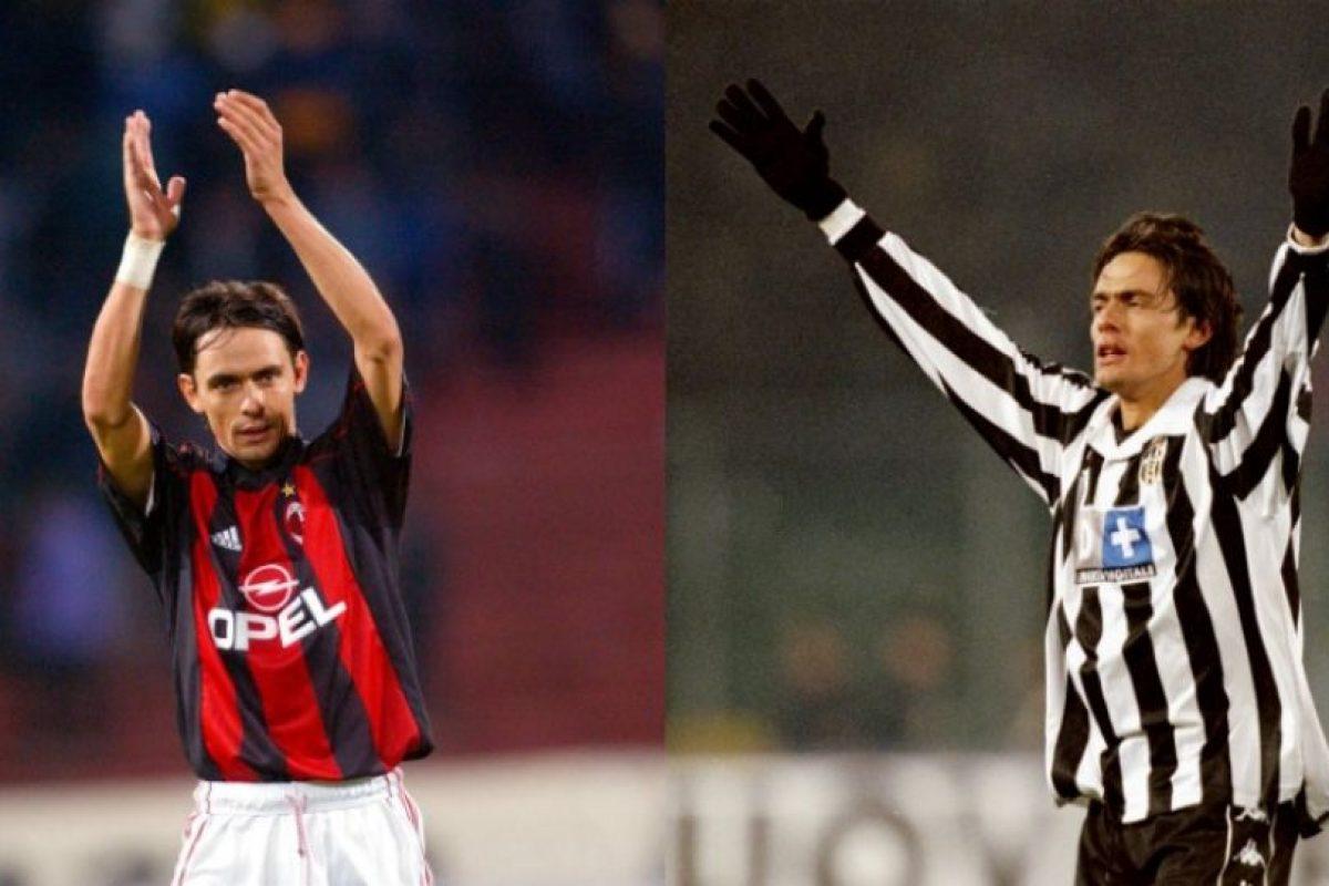 Filippo Inzaghi cambió Juventus por AC Miilán y su actitud no fue perdonada Foto:Getty Images. Imagen Por: