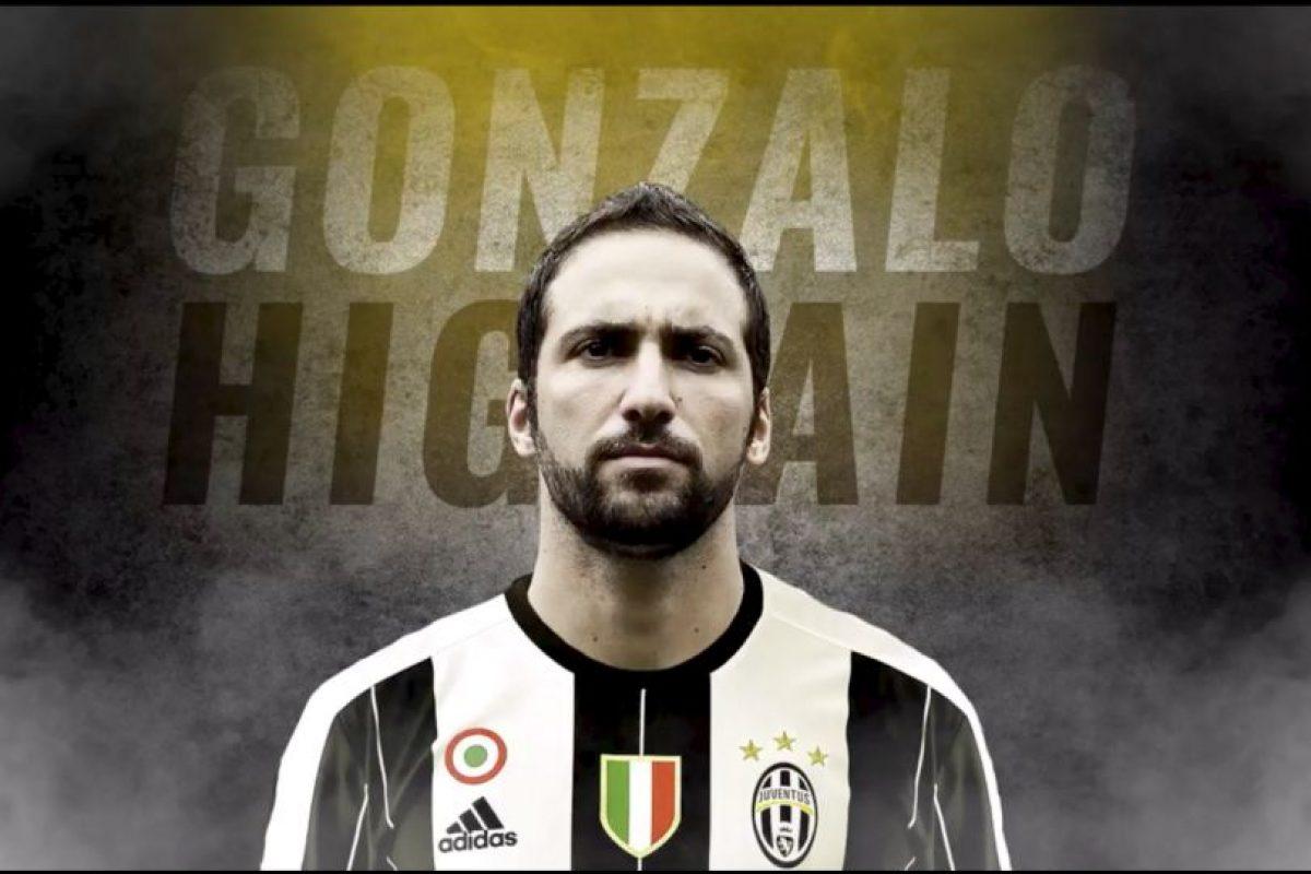 Gonzalo Higuaín es el gran fichaje de la Serie A y Juventus pagó 90 millones para contratarlo desde Napoli Foto:Twitter Juventus. Imagen Por: