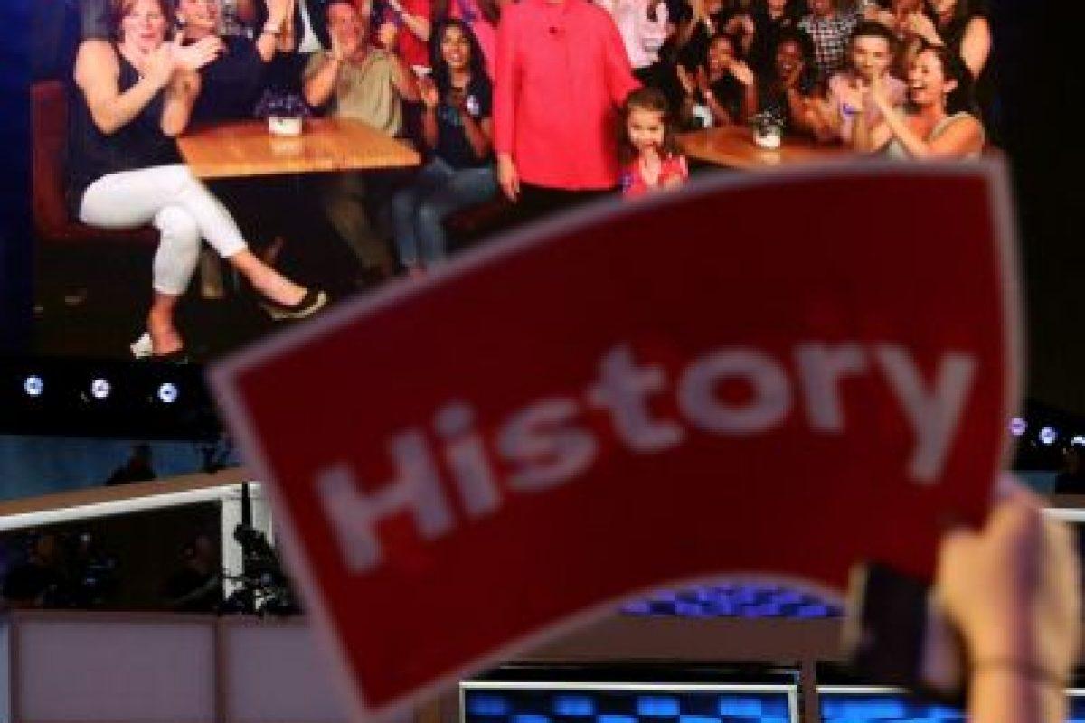 Hillary Clinton podría ser la primera mujer presidente de la historia estadounidense. Foto:vía MWN. Imagen Por: