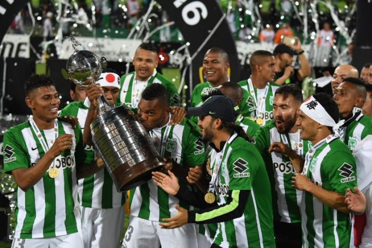 El equipo de Medellín fue el más justo vencedor de la Copa Libertadores 2016 Foto:AFP. Imagen Por: