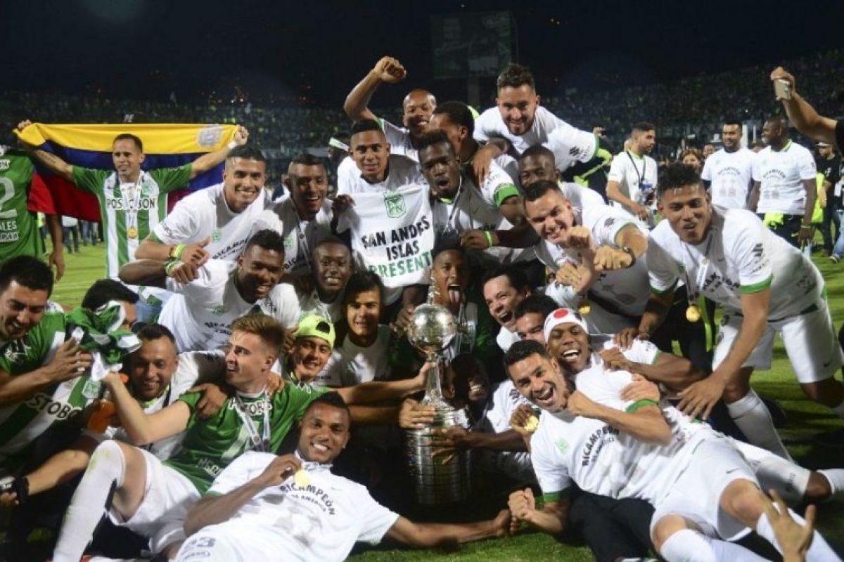 Atlético Nacional marcó 12 goles en la fase de grupos y no recibió ninguno Foto:AFP. Imagen Por: