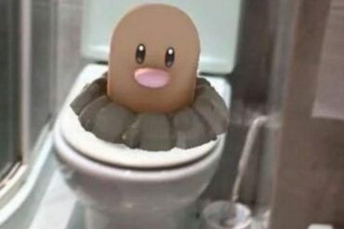Han aparecido pokémon en los lugares más extraños. Foto:Pokémon Go. Imagen Por: