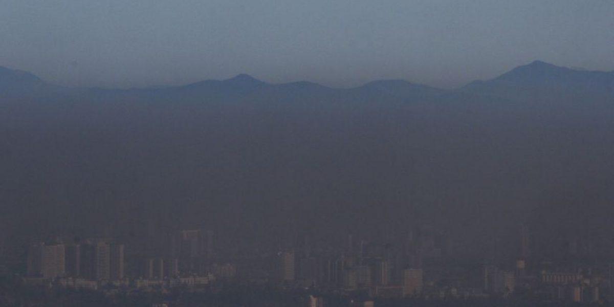 Intendencia decreta alerta ambiental para este jueves en Santiago