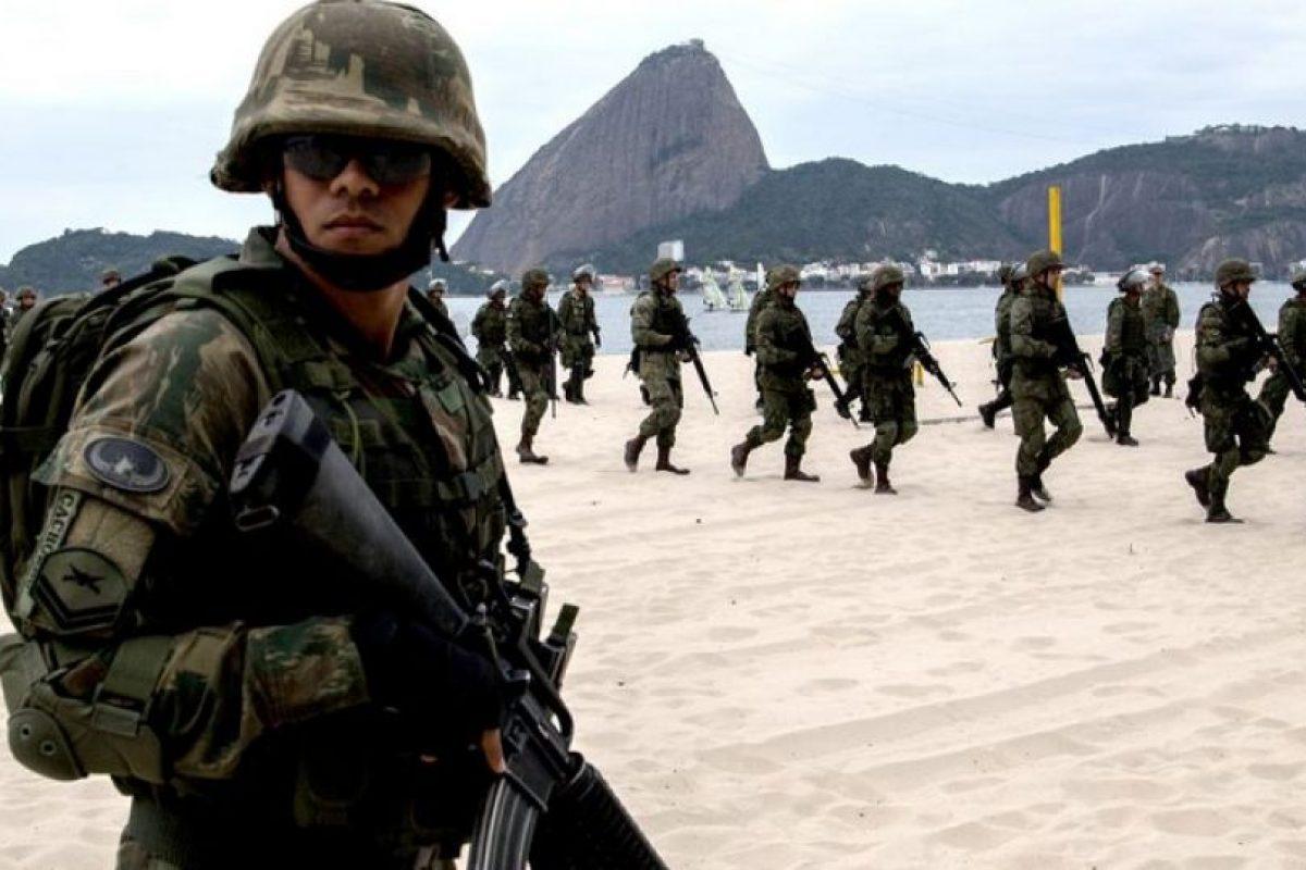 Hace un par de semanas Brasil realizó un simulacro de atentado terrorista. Foto:Afp. Imagen Por: