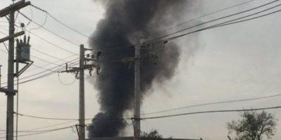 Explosión en empresa de tratamientos químicos en Pudahuel deja un herido