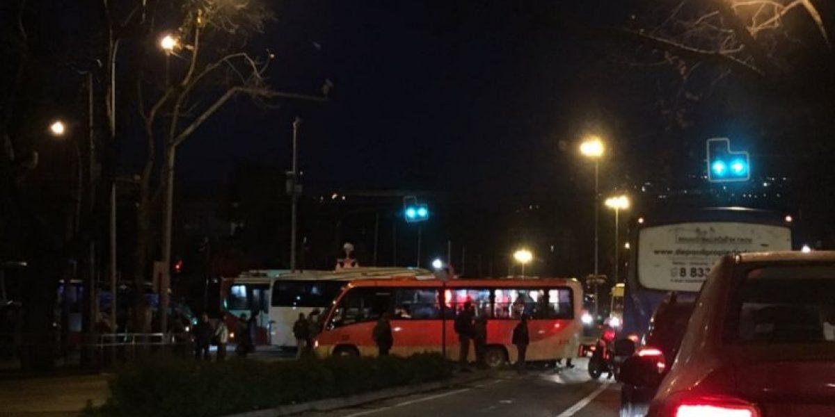 Colisión de dos buses en Viña del Mar deja al menos 40 lesionados