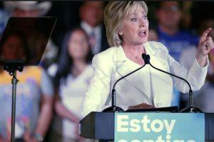 En esta convención Hillary Clinton ya hizo historia. Foto:Getty Images. Imagen Por: