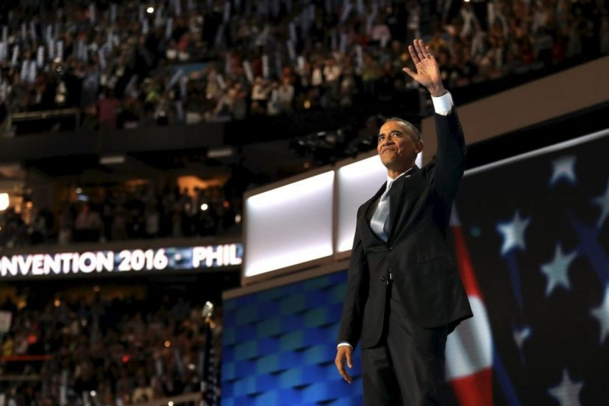 Barack Obama hizo un recorrido por su presidencia Foto:Getty Images. Imagen Por: