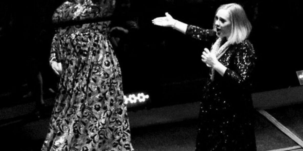Adele invitó a subir al escenario a una mujer que la imitaba y se llevó una gran sorpresa
