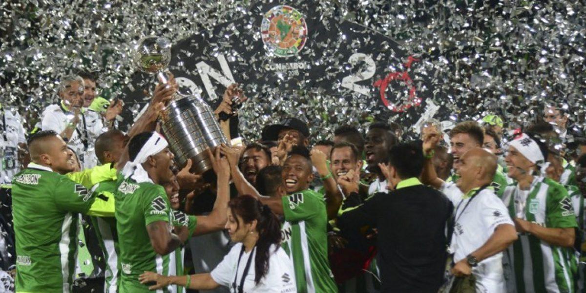 Atlético Nacional es el mejor campeón de la Copa Libertadores en 34 años