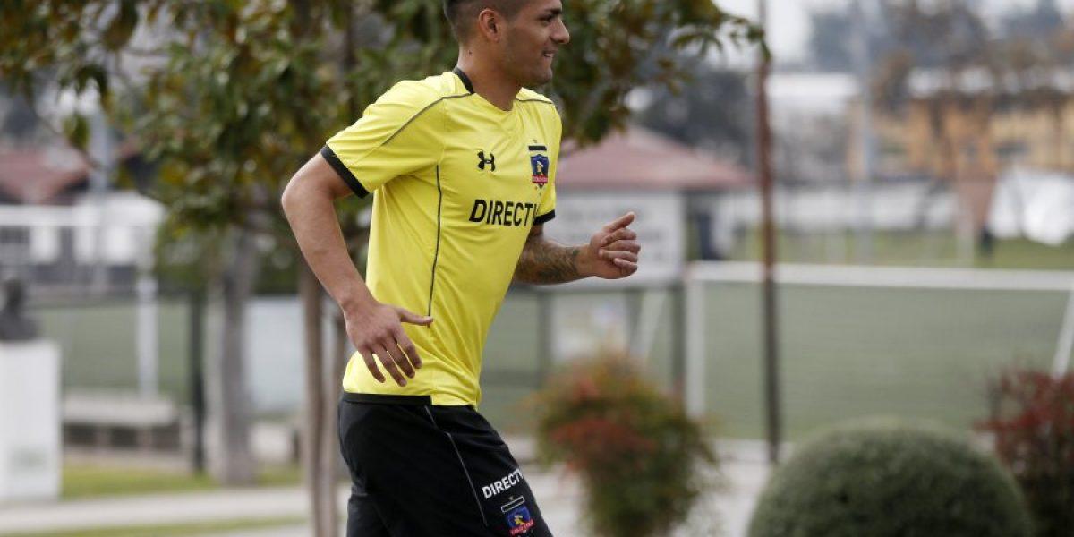 Sigue probando: Felipe Campos entrenó de titular en su primera jornada en Colo Colo