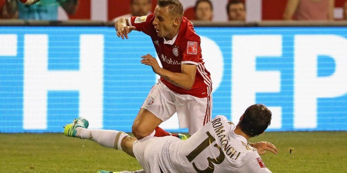 Bayern Munich sin Vidal cayó por penales ante AC Milan en EE.UU.