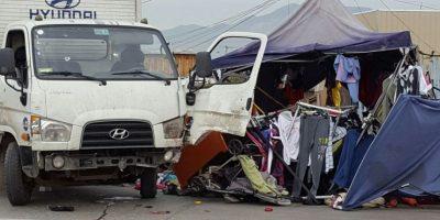 Niño de 12 años roba camión y protagoniza atropello en feria de Puente Alto: un muerto y cinco heridos