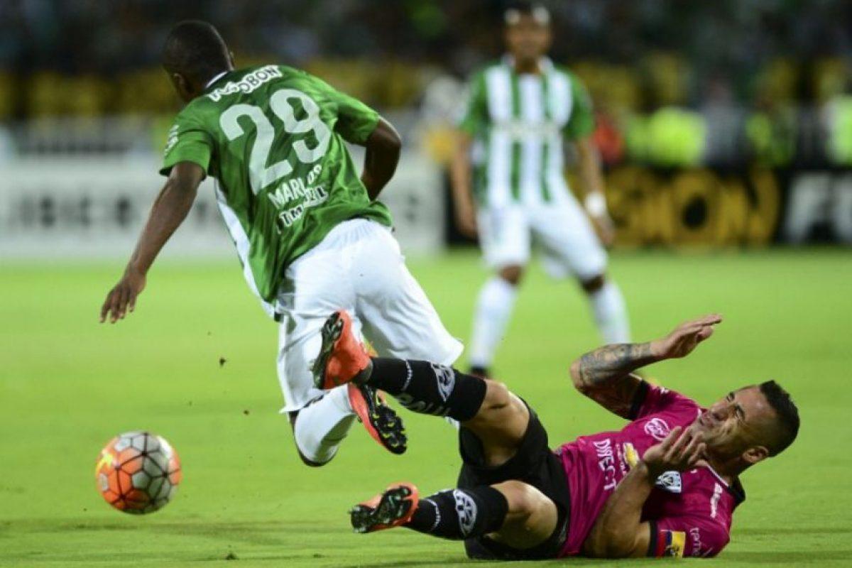 La joven perla es la gran sensación del fútbol colombianoa Foto:AFP. Imagen Por: