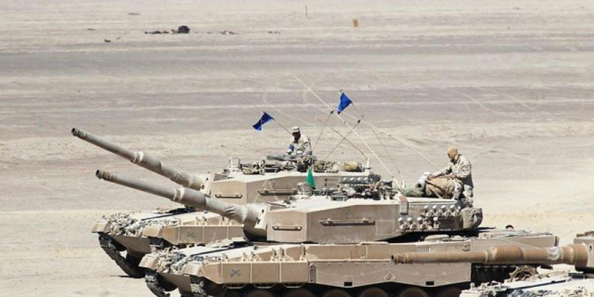 Ejército realiza espectacular competencia de tanques en el desierto de Tarapacá