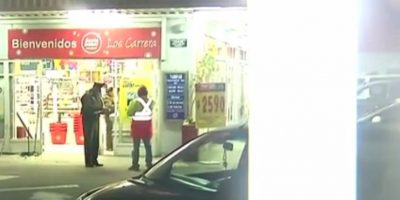 Un guardia herido dejó robo a supermercado usando técnica del