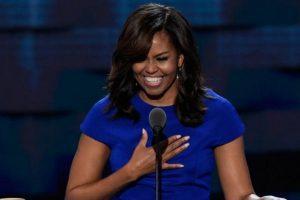 Michelle Obama también dio un discurso empoderador sobre la raza y también sobre la historia estadounidense. Foto:Getty Images. Imagen Por: