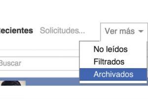 """Las conversaciones se van a un """"inbox"""" alterno. Foto:Facebook. Imagen Por:"""