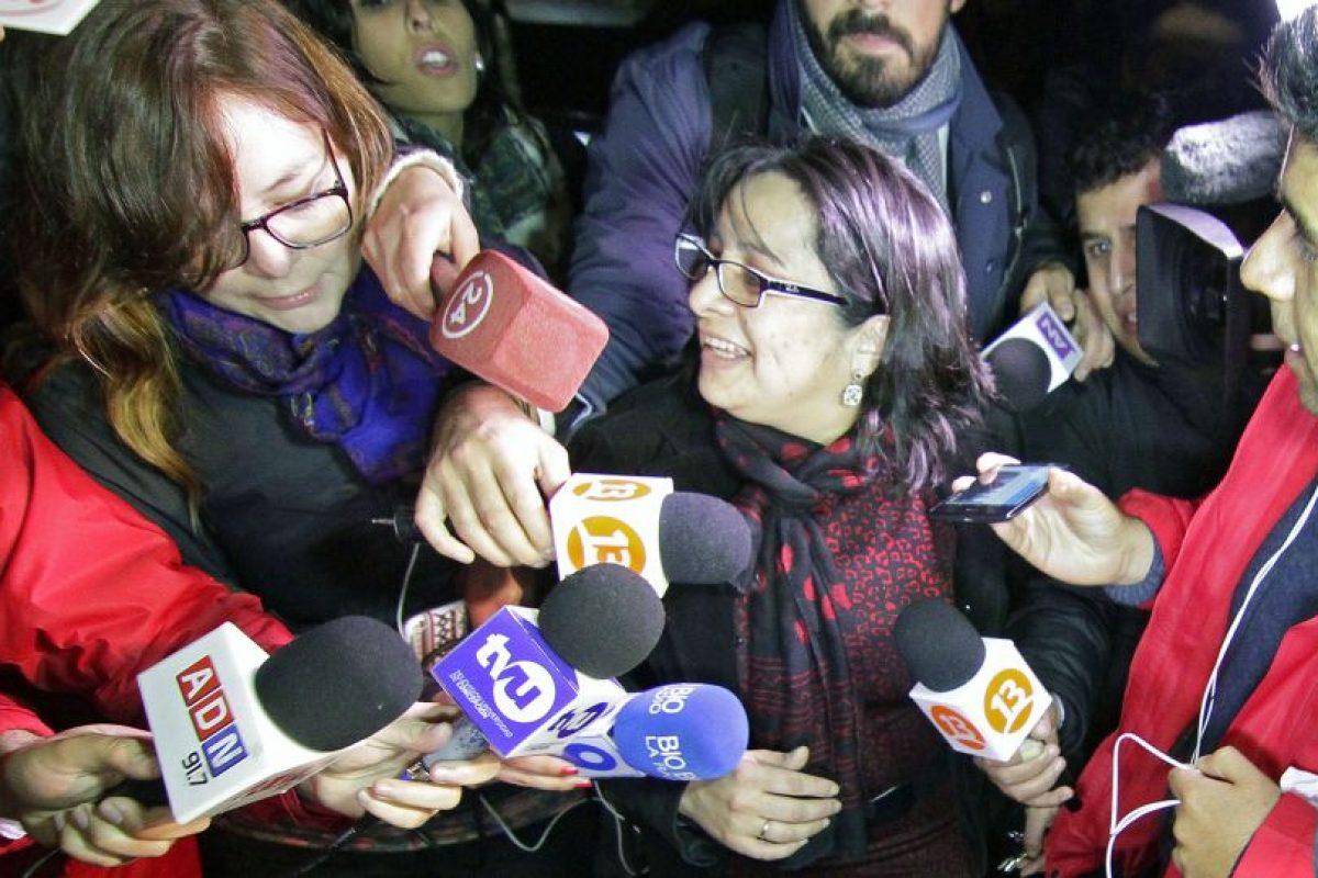 La ministra en visita del Caso Matute, Carola Rivas. Foto:ATON Chile. Imagen Por: