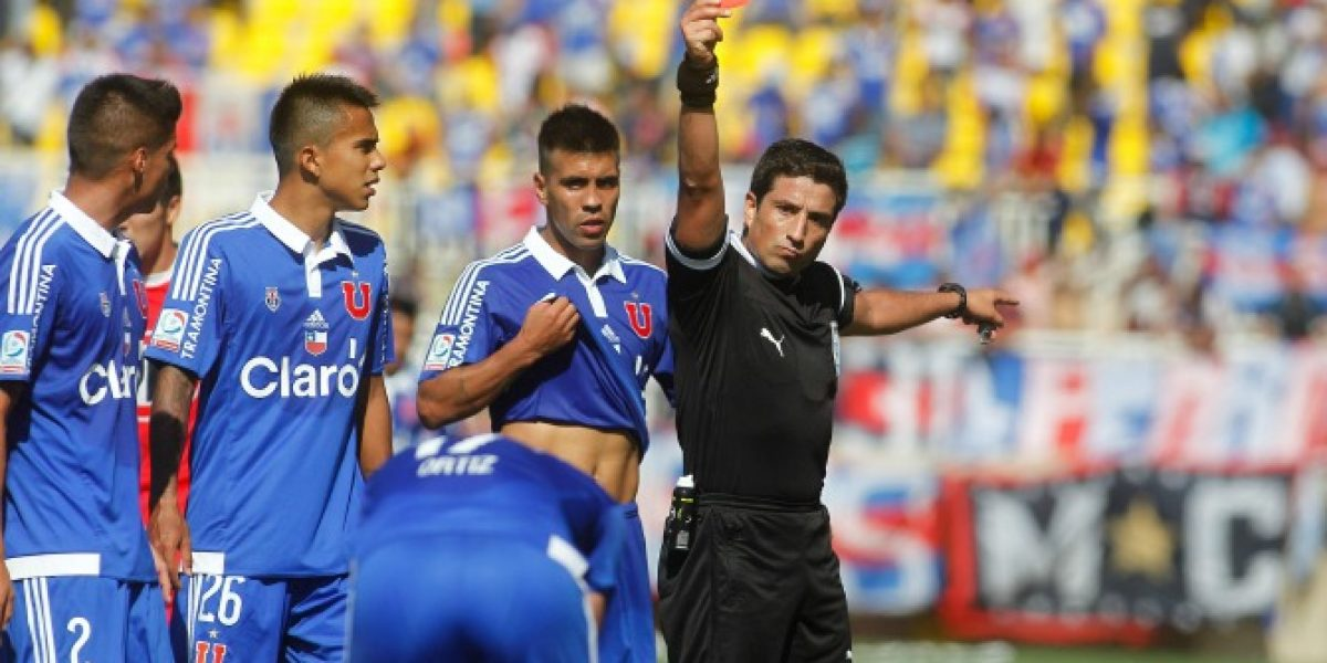 Gamboa a la U y Osorio a Colo Colo: Los árbitros para el inicio del Torneo de Apertura