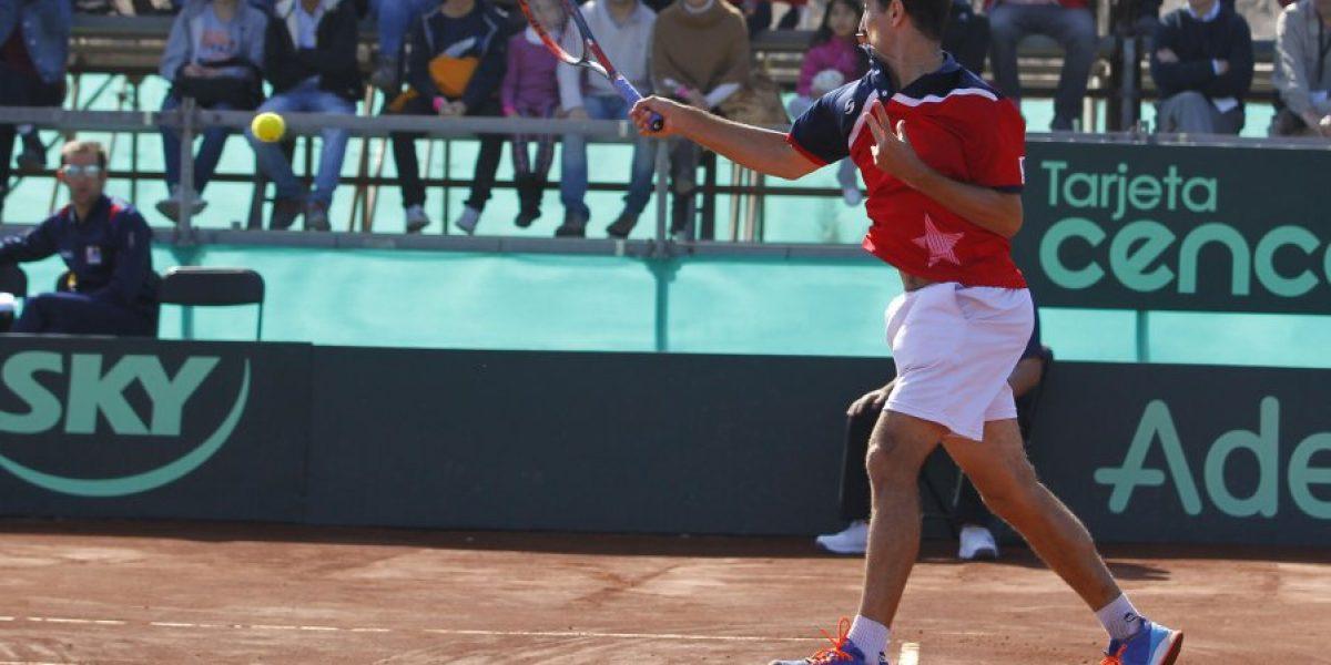 Pensando en Río: Hans Podlipnik avanzó a la final del dobles en el challenger de Biella