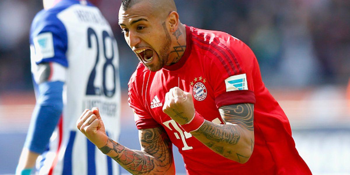 Arturo Vidal no se mueve de Alemania: