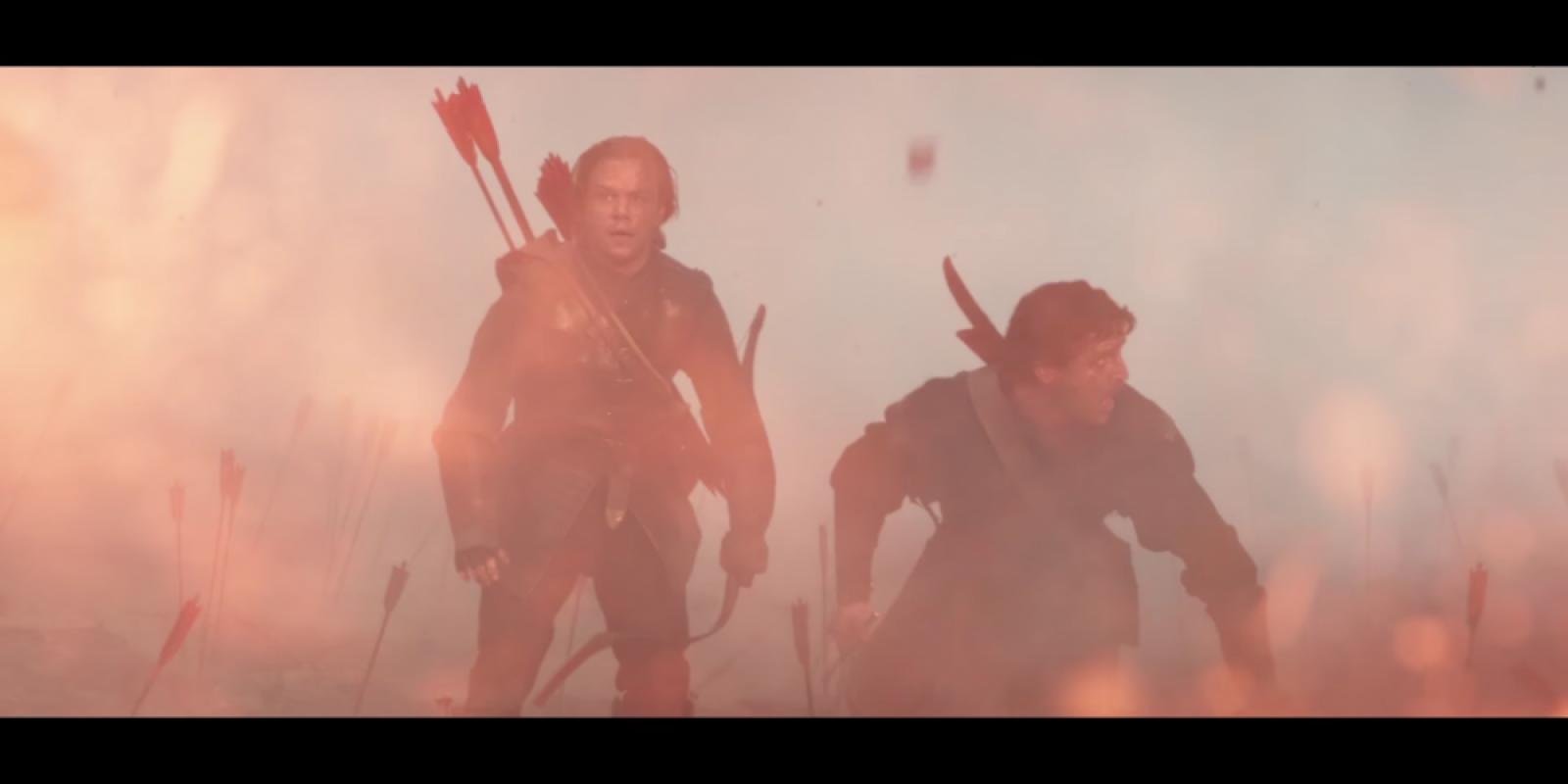 Matt damon y el chileno pedro pascal en el primer trailer for El mural trailer