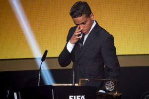 El delantero brasileño estuvo en la mira de todos tras ganarle a Lionel Messi Foto:Getty Images. Imagen Por:
