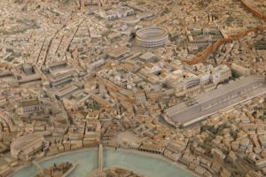 En el año 634 A.C los romanos creían que en algún momento su ciudad sería destruída y se acabaría todo. No se acabó todo, pero sí su ciudad: en el año 436 A.D, el Imperio Romano Occidental cayó para siempre. Foto:vía rome.org. Imagen Por: