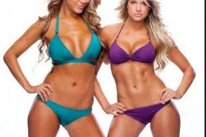 Rosa Mendes y Kelly Kelly Foto:WWE. Imagen Por: