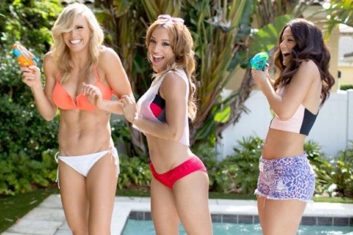 Charlotte, Sasha y Bayley Foto:WWE. Imagen Por: