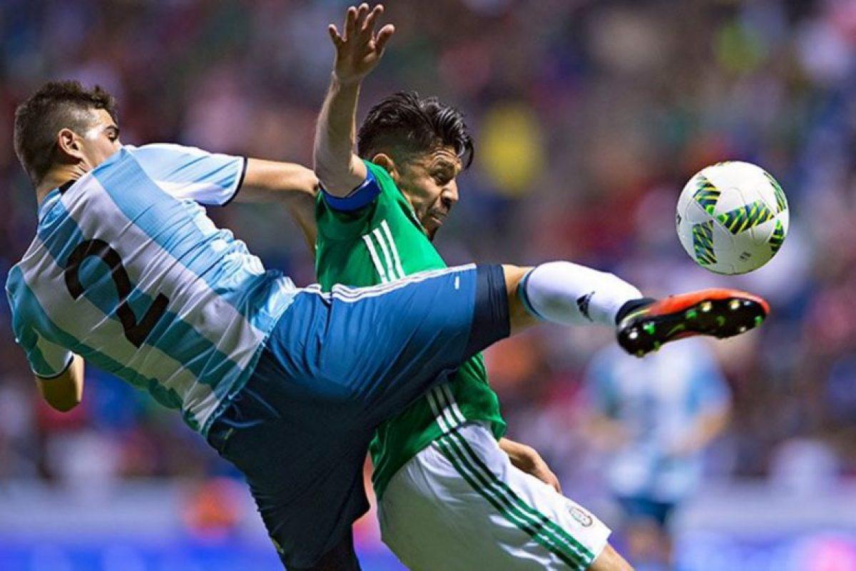 Los trasandinos empataron sin goles ante México en el amistos Foto:@Argentina en Twitter. Imagen Por: