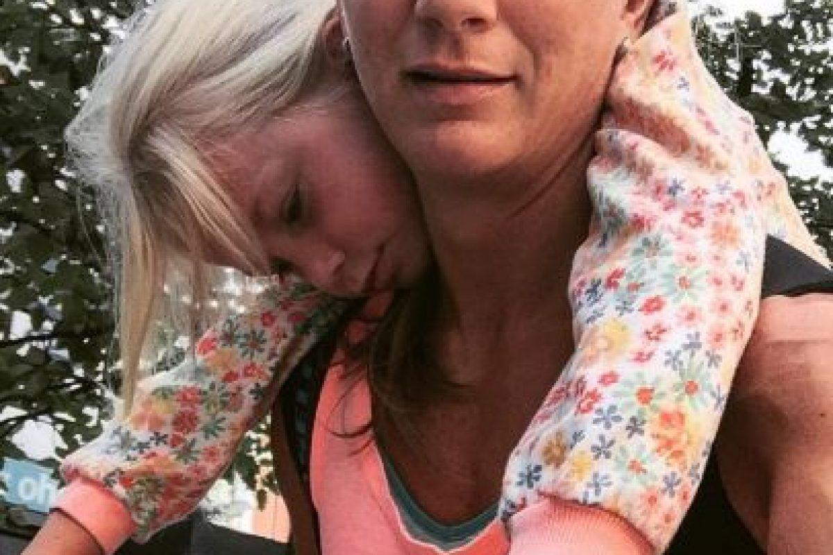 Acá está con su hija. Foto:Instagram. Imagen Por: