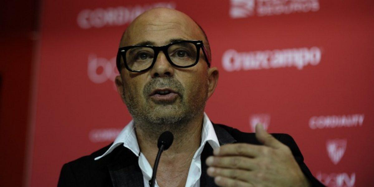 Sampaoli fascina a la nueva estrella del Sevilla:
