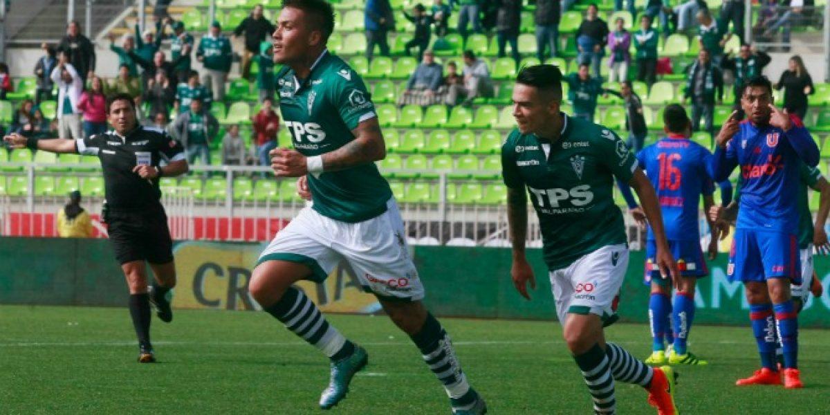 Así vivimos el triunfo de Wanderers contra la Universidad de Chile en Valparaíso