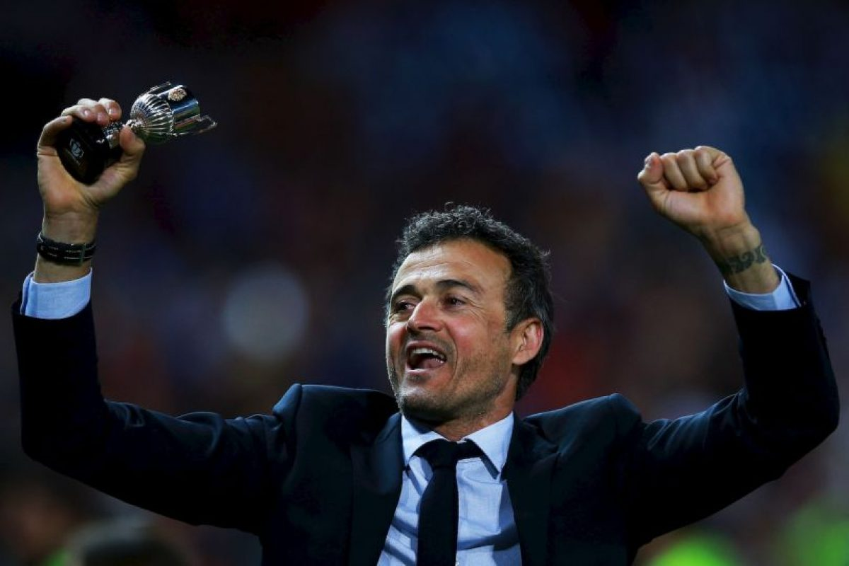 3.- Luis Enrique (Barcelona) Foto: Getty Images. Imagen Por: