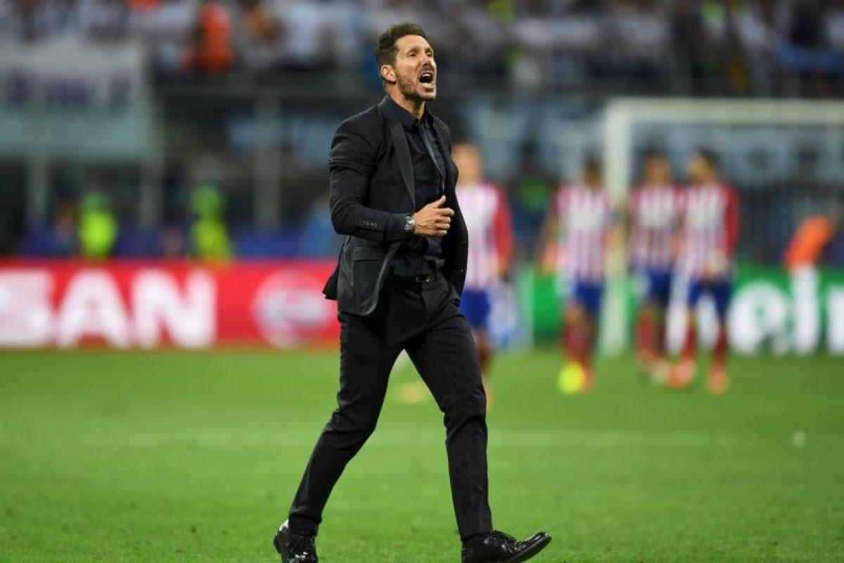 1.- Diego Simeone (Atlético de Madrid) Foto:Getty Image. Imagen Por: